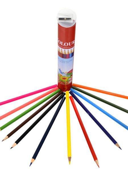 ألوان خشبية 12 لون